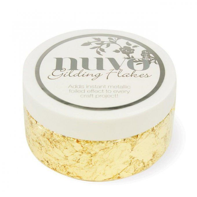 Nuvo flakes Gold