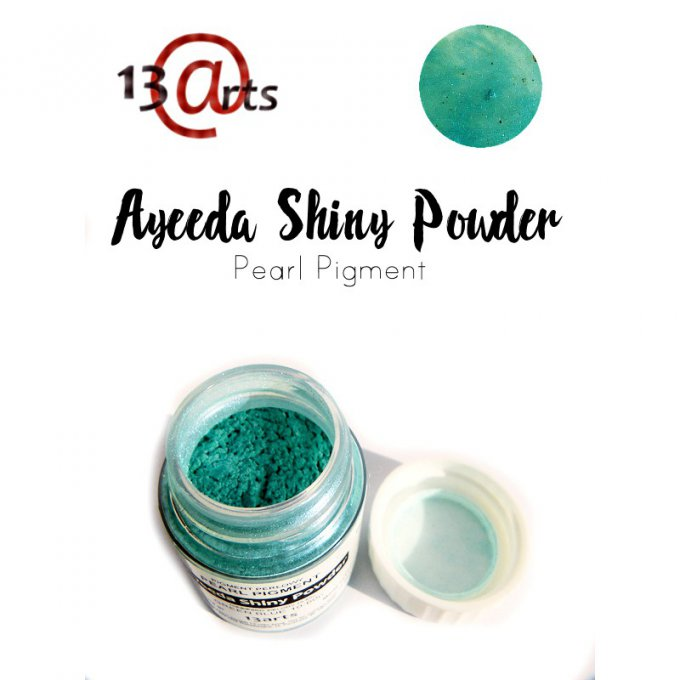 Ayeeda Shiny Powder - Green Blue