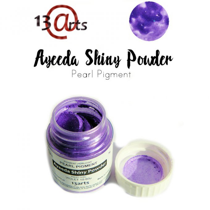 Ayeeda Shiny Powder - Violet