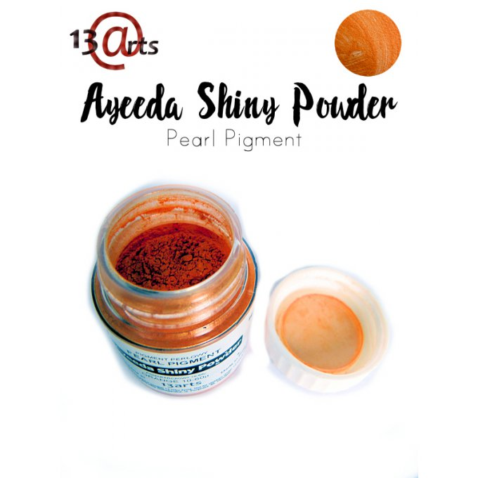 Ayeeda Shiny Powder - Orange