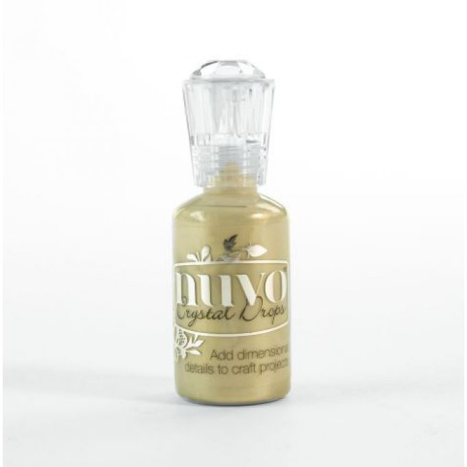 Tonic Nuvo crystal drops 30ml pale gold