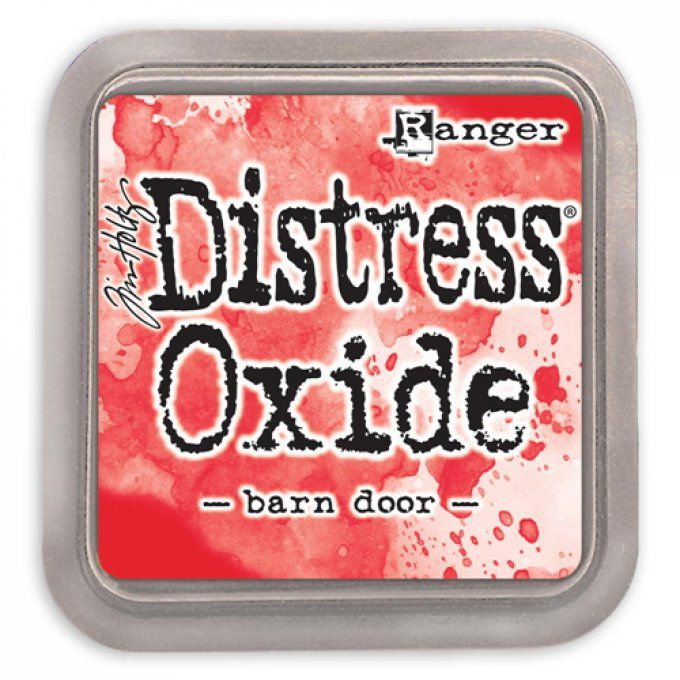 Distress Oxide barn Door