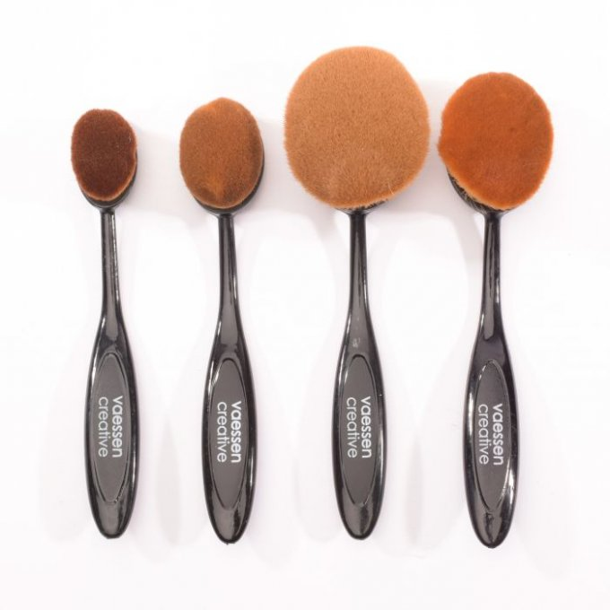 Lot de 4 brosses