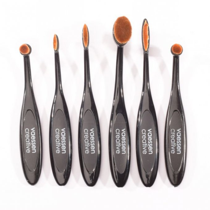 Lot de 6 brosses