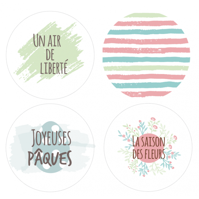 Badges Un air de liberté