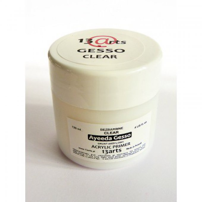 Gesso clear 13@arts