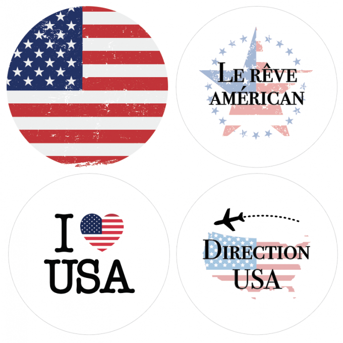 Badges USA