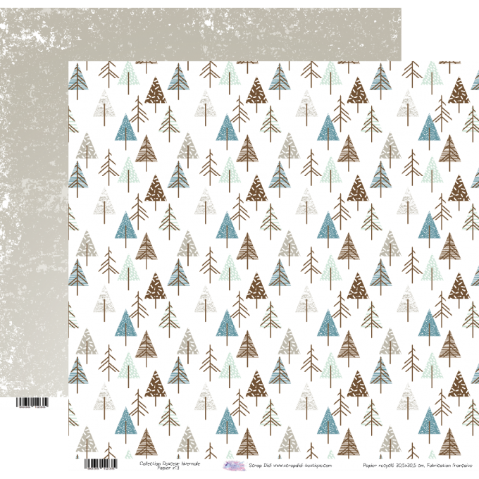 Collection Douceur Hivernale - Papier n°3