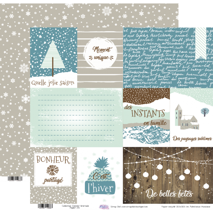 Collection Douceur Hivernale - Papier n°6