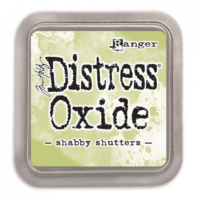 Distress Oxide Shabby Shutters